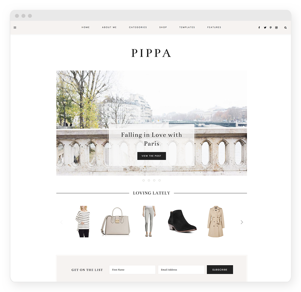 Pippa WordPress Theme
