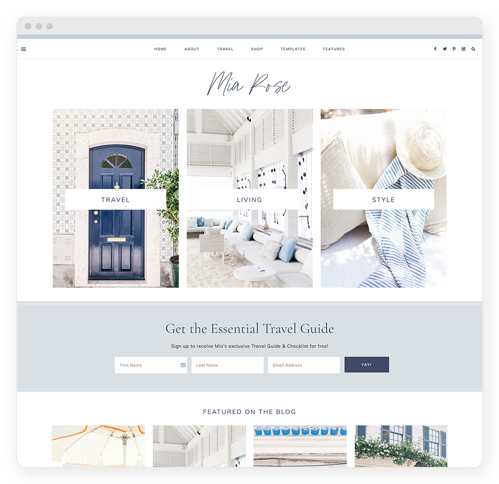 Mia WordPress Theme