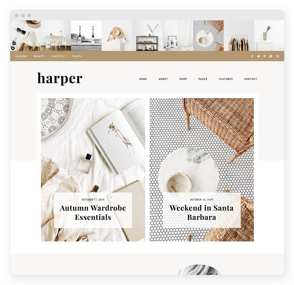 Harper WordPress Theme